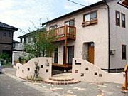 自然素材 塗り壁の家