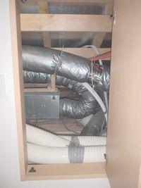 床下システムと換気システム