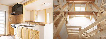 外断熱の地熱住宅 木の家