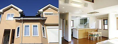 外断熱の地熱住宅 実例