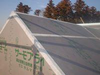 屋根の外断熱