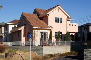 塗り壁の家オール電化住宅